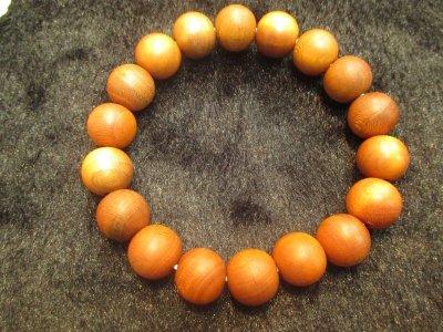 画像3: 京都・パワーストーン/【激安】【正梅(しょううめ)】高級天然木13mm 数珠ブレスレット【伏見の京屋】