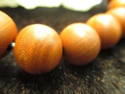 画像2: 京都・パワーストーン/【激安】【正梅(しょううめ)】高級天然木13mm 数珠ブレスレット【伏見の京屋】