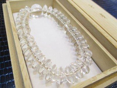 画像3: パワーストーン・京都/【最高品質5A(透明度・加工)】【そろばん珠本水晶】大玉14mm、数珠型ブレスレット【天然石の京屋】