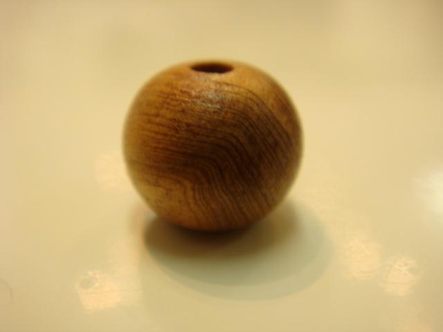 画像1: パワーストーン・京都【ビーズばら売り】【屋久杉(世界自然遺産)】高級天然木9mm玉【天然石の京屋】
